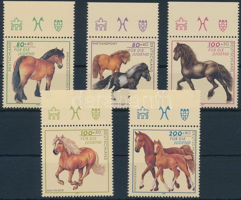 Horses margin set, Lovak ívszéli sor