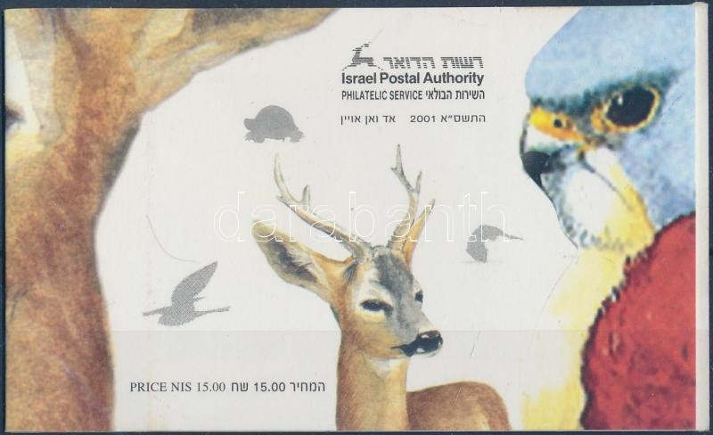 Endangered animals stamp-booklet, Veszélyeztetett állatok bélyegfüzet