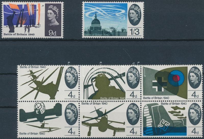 25th anniversary of Air battle set, Légi csata 25. évfordulója sor (hatostömb + 2 érték)