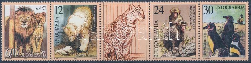 Protected animals stripe of 5, Védett állatok ötöscsík