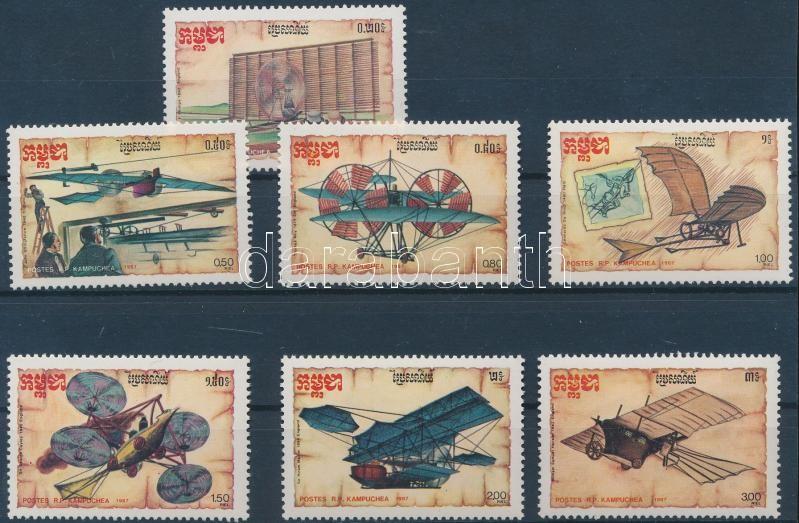 History of the aircraft design set, A repülőgéptervezés történelme sor