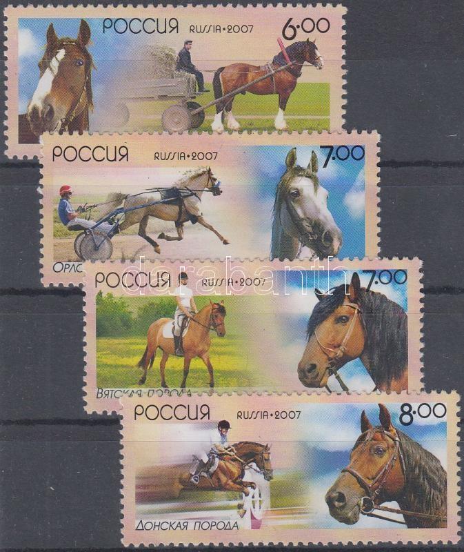 Horses set, Lovak sor