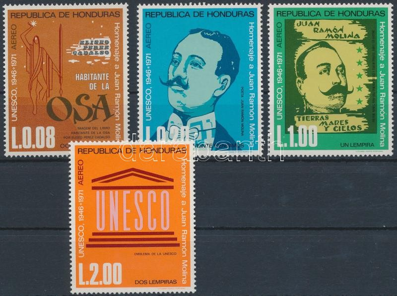 25 éves az UNESCO sor 25th anniversary of UNESCO  set