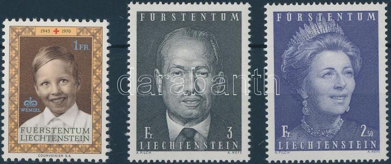 1970-1971 3 diff stamps 1970-1971 3 klf bélyeg