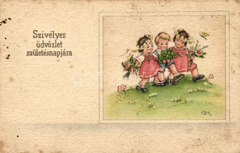 Birthday, children, HA.CO. 7325.,