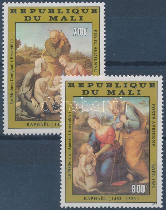 Raphael paintings set Raffaello festmények sor