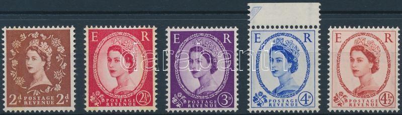 II. Erzsébet királynő 5 érték Queen Elizabeth II 5 stamps