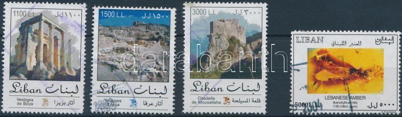 Definitive 4 stamps from set Forgalmi sor 4 értéke