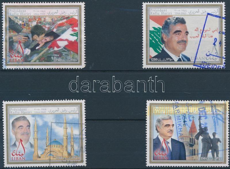 Rafik Hariri's assassination anniversary set Rafik Hariri meggyilkolásának évfordulója sor