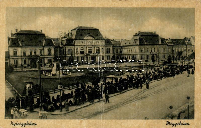Nyíregyháza, Megyeháza, piac