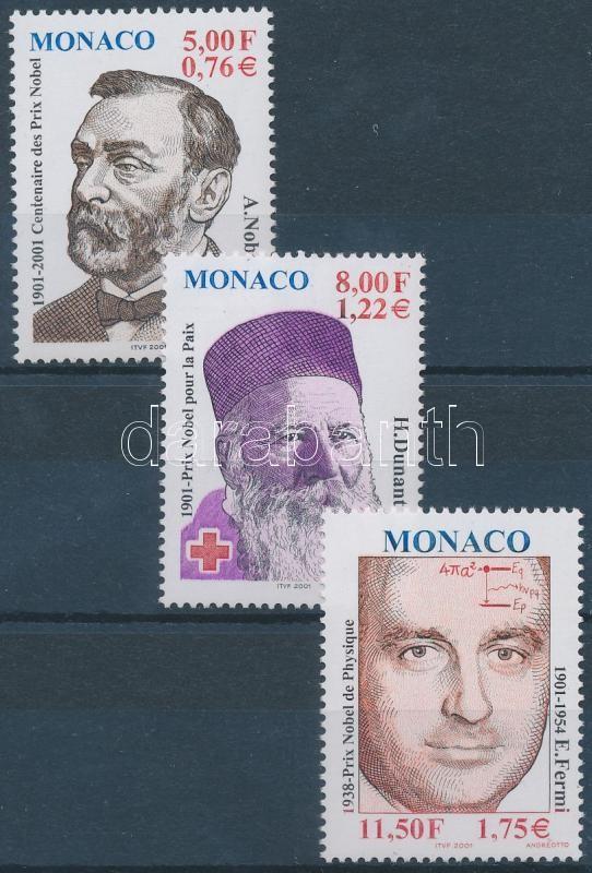 Nobel Prize winners set Nobel-díjasok sor