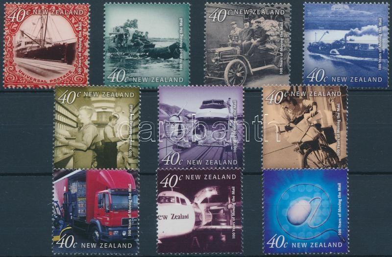 Postal vehicles in the 20th century set, Postai járművek a 20. században sor