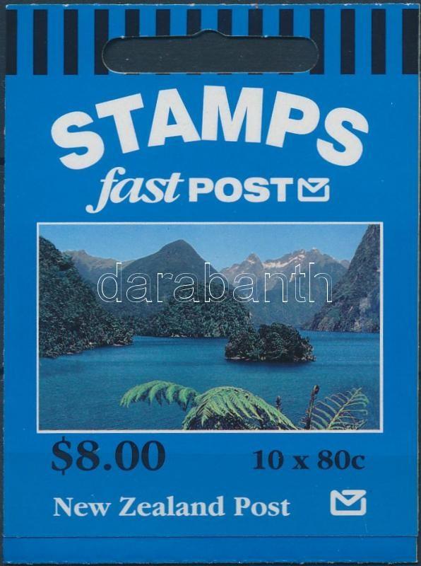 Definitive stamp booklet, Forgalmi bélyegfüzet