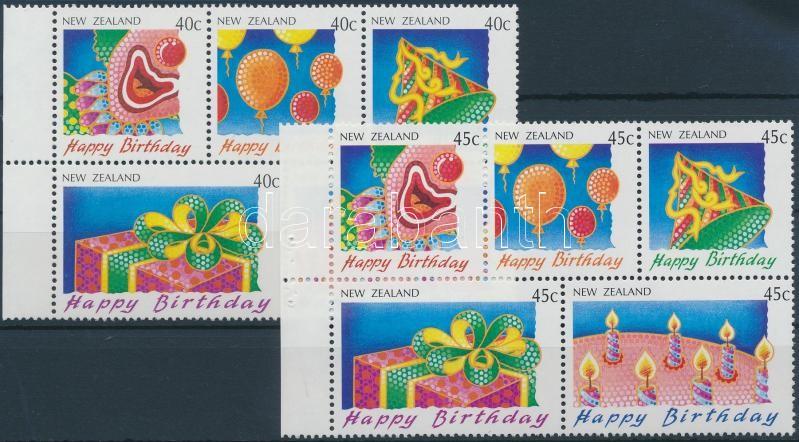 Greeting Stamp 2 diff stamp booklet sheet, Üdvözlőbélyeg 2 klf bélyegfüzetlap