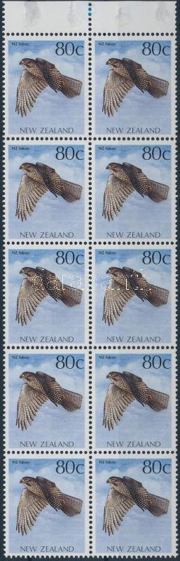 Bird stamp booklet sheet, Madár bélyegfüzetlap