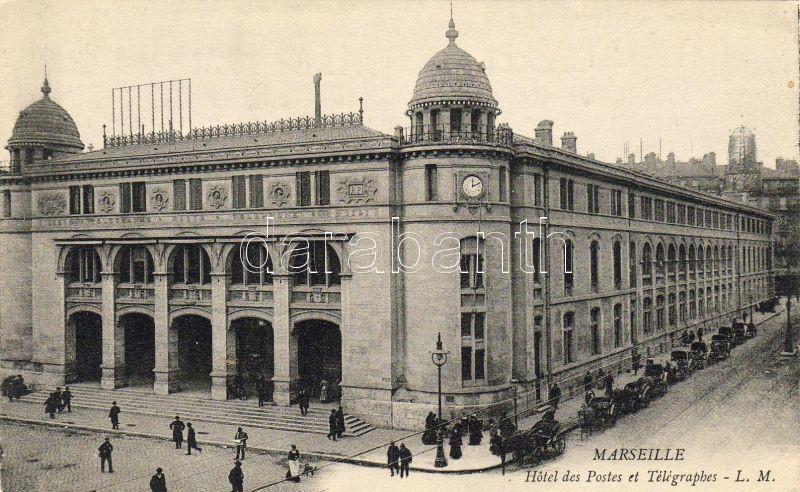 Marseilles, Hotel des Postes et Telegraphes / Post office