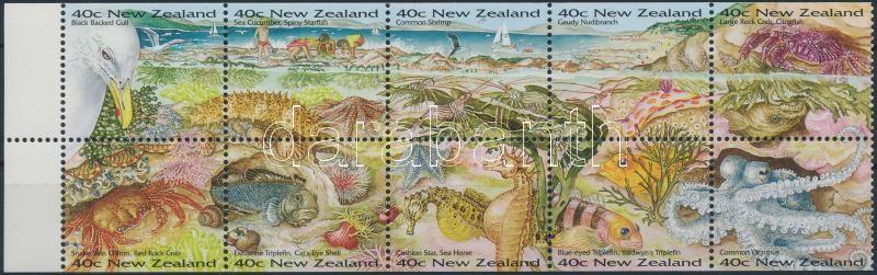 Wildlife stamp booklet sheet, Élővilág bélyegfüzetlap