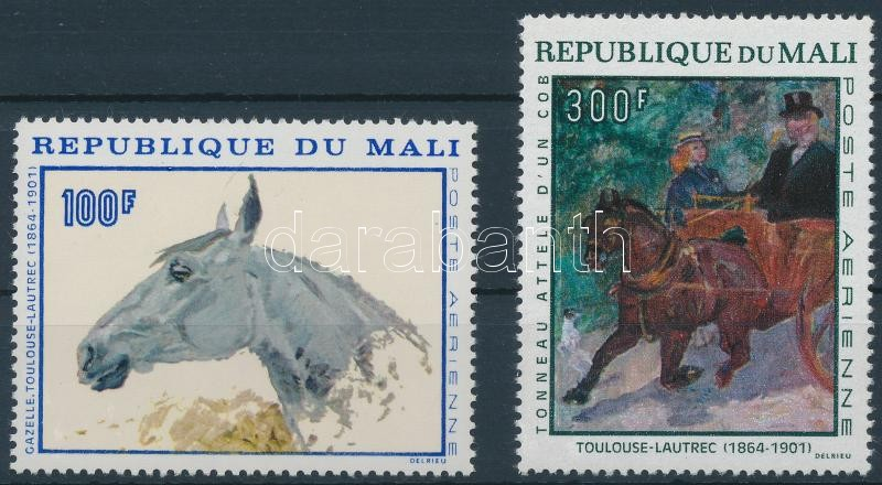Toulouse-Lautrec paintings set, Toulouse-Lautrec festmények sor