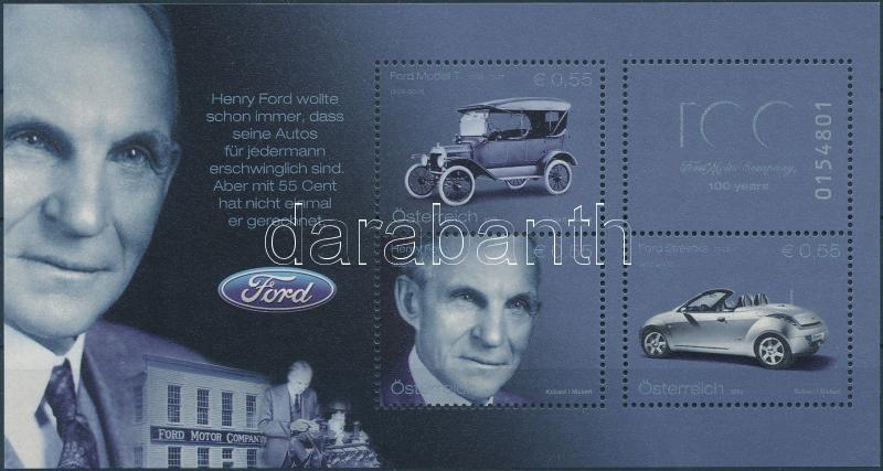 Ford Motor block, 100 éves a Ford autó blokk