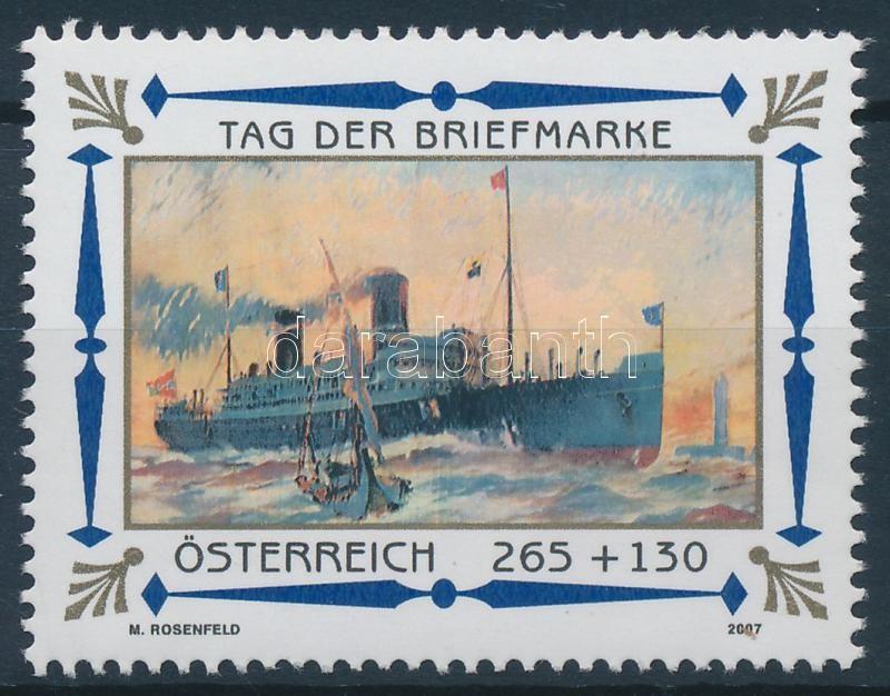 Stamp Day; Ship, Bélyegnap; Hajó