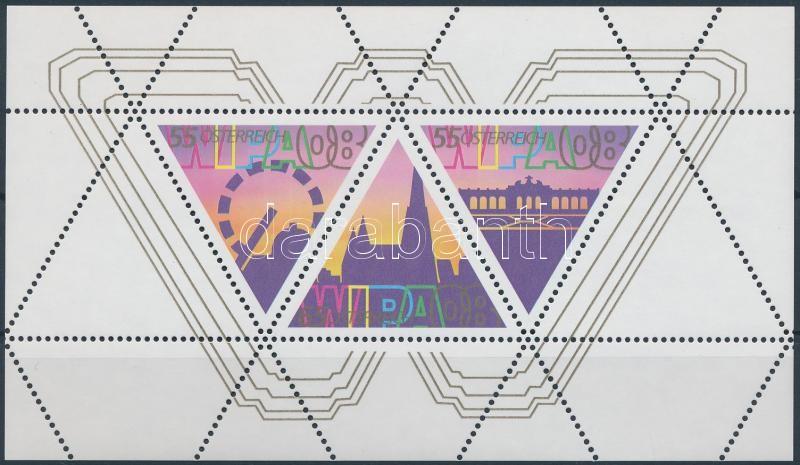 Stamp Exhibition WIPA'08 (IV) block, Bélyegkiállítás, WIPA'08 (IV) blokk