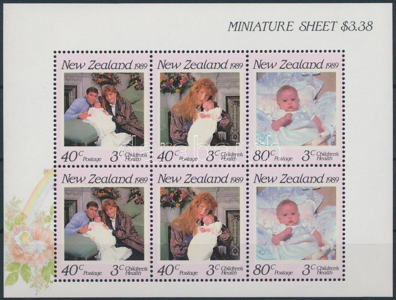 Royal family minisheet, Királyi család kisív