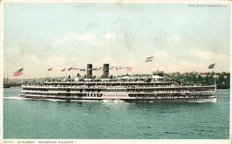 Steamer Hendrick Hudson, Hendrick Hudson gőzös