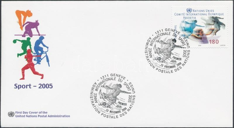 Sport éve FDC-n, Year of Sport on FDC