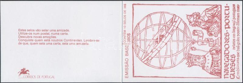 Portuguese sailors stamp-booklet, Portugál tengerészek bélyegfüzet