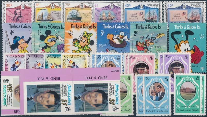 1979-1982 32 stamps, 1979-1982 32 db bélyeg