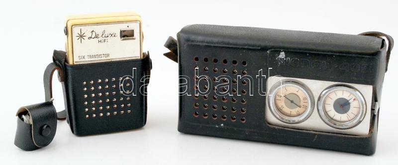 228584891614 2 db retró táska rádió, Signal 402, Captain de luxe, 6×10 cm ...