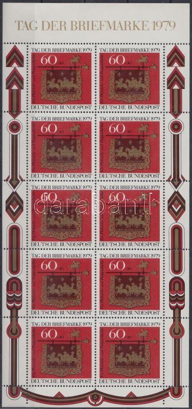A bélyeg napja kisív, Day of Stamp mini sheet
