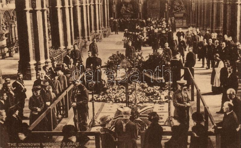 London, Westminster Abbey, the unknown warriors grave / interior