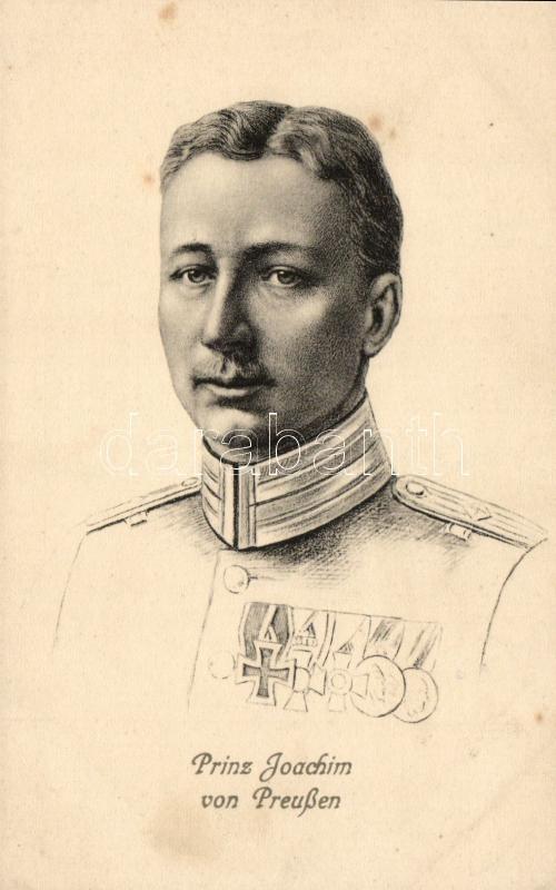 Prinz Joachim von Preussen, Joakim porosz királyi herceg
