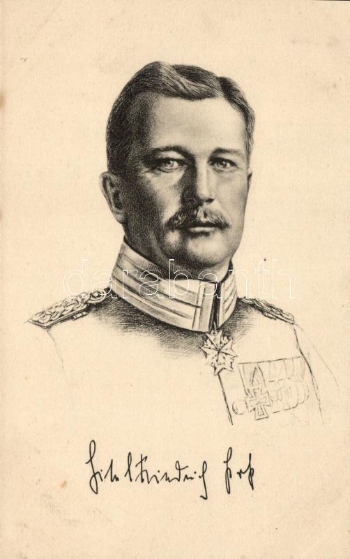 Prinz Eitel Friedrich von Preussen, Eitel Frigyes porosz királyi herceg
