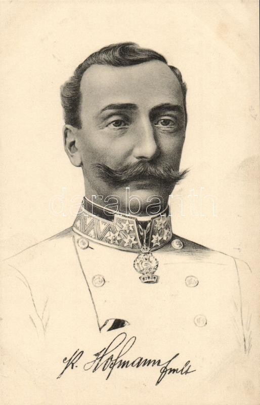 Feldmarschallleutnant Peter Hofmann, Peter Hofmann hadnagy