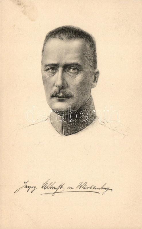Herzog Albrecht von Württemberg, Albert württembergi herceg