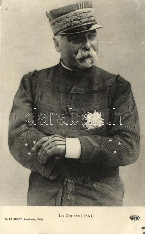 Le General Pau, Paul Pau francia tábornok