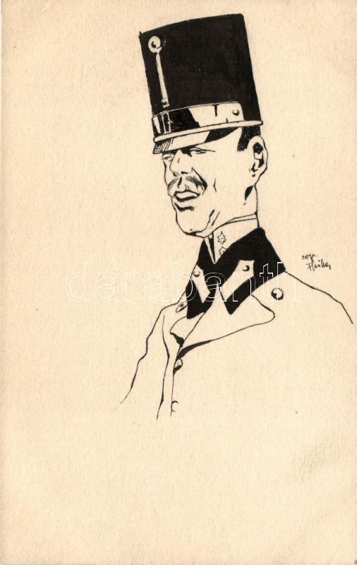 K.u.K. army, Austrian officer, Osztrák katonatiszt