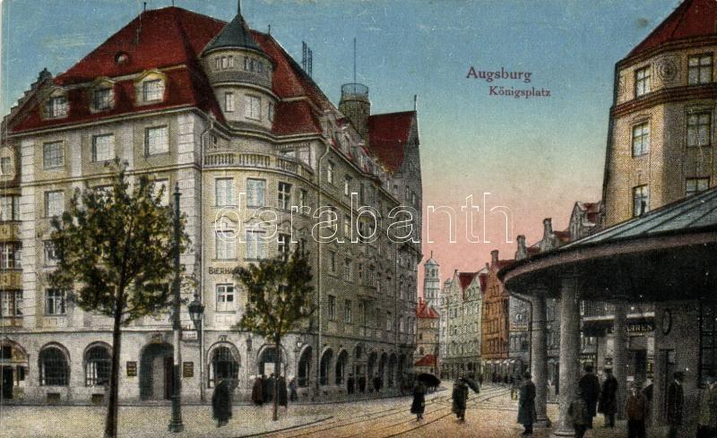Augsburg, Königplatz / street view