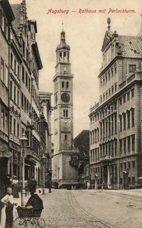 Augsburg, Rathaus, Perlachturm / town hall, tower