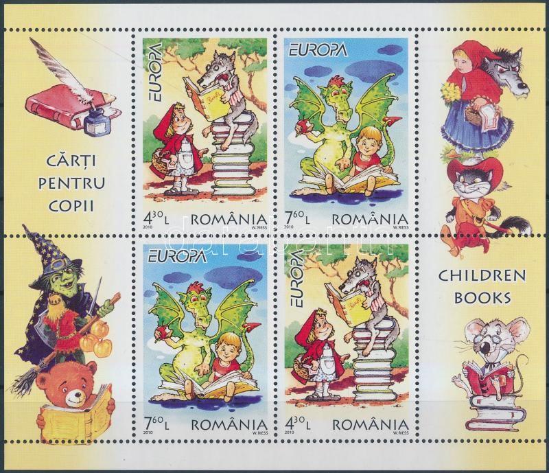 Europa CEPT children's books block Europa CEPT gyermekkönyvek blokk