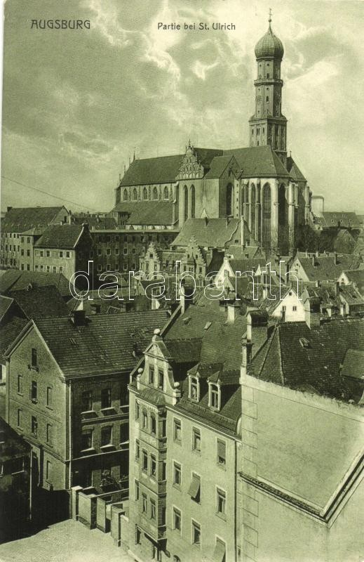 Augsburg, St. Ulrich / church
