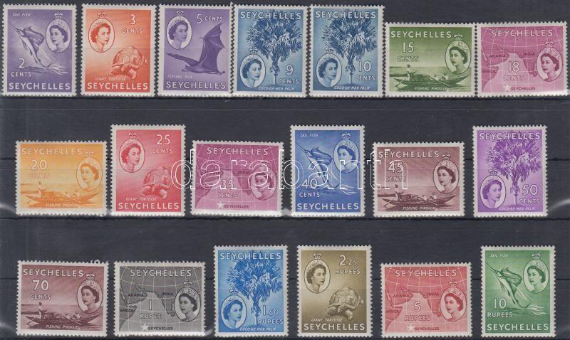 Lot 4310 - seychelles islands Worldwide philately and postal history - Seychelles Islands -  Darabanth Co Ltd International Philatelic & Numismatic Auction #22