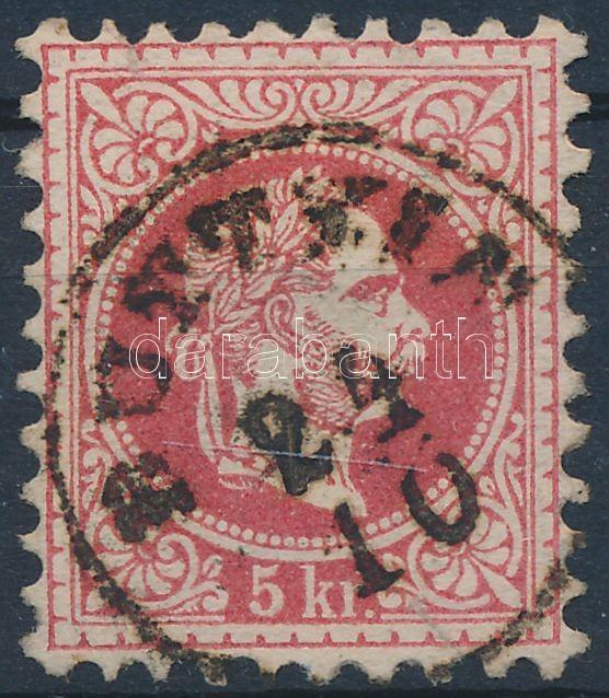 """""""BUTT(YIN)"""" Austria-Hungary-Romania classic postmark """"BUTT(YIN)"""""""