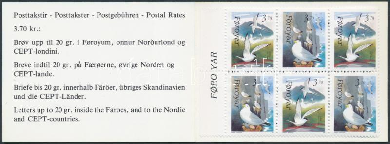 Birds stampbooklet, Madarak bélyegfüzet