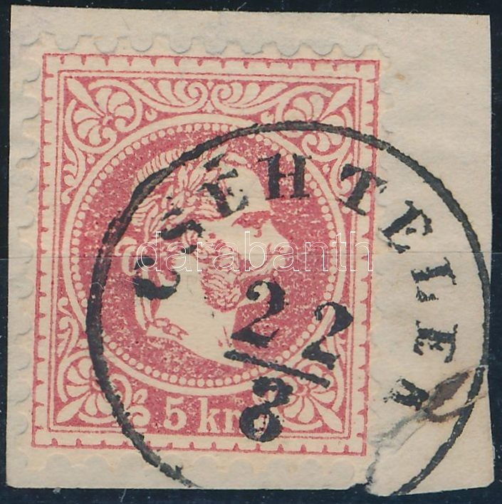 """""""CSÉHTELEK"""" Austria-Hungary-Romania classic postmark """"CSÉHTELEK"""""""
