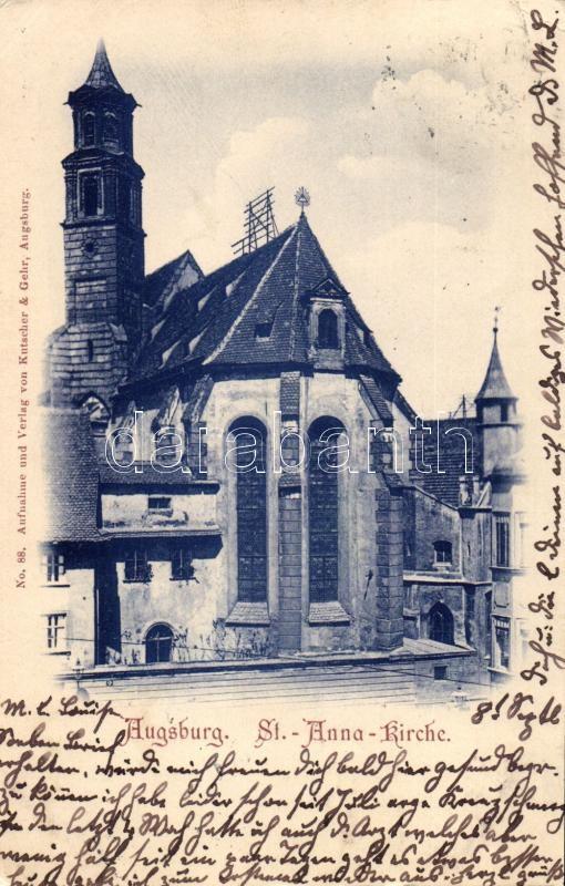 Augsburg, St. Anna Kirche / church