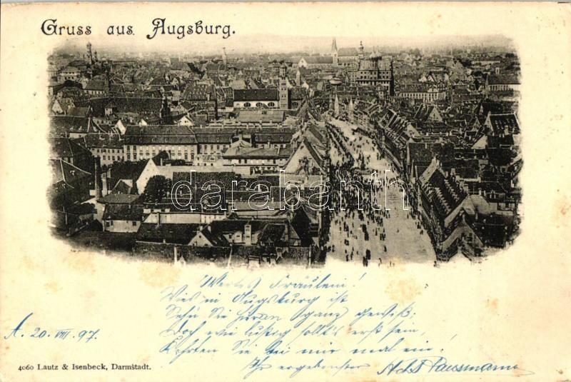 1897 Augsburg / view