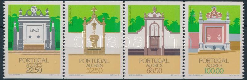 Architecture stripe of 4 Építészet négyescsík